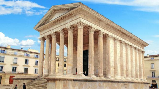 Maison Carrée, Kuil Romawi Paling Utuh Hingga Saat Ini