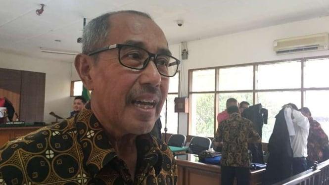 Gratifikasi Rp1,29 M, Kpk Minta Hak Politik Abubakar Dicabut