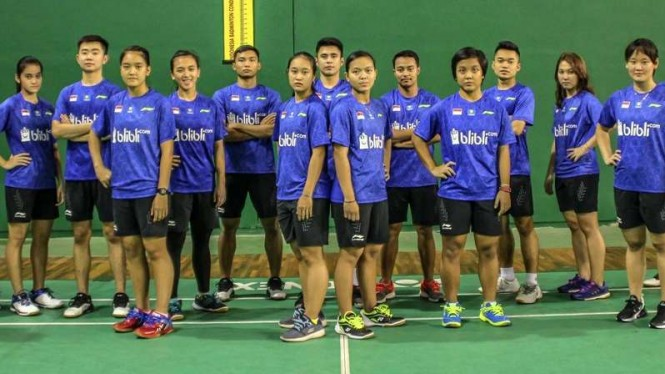 Skuat Indonesia di ajang Kejuaraan Dunia Bulutangkis Junior 2018