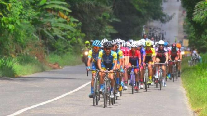 Etape II Tour de Singkarak 2018