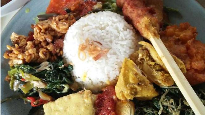Nasi Bali di Nook, Bali