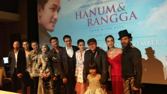 Hanum & Rangga, Film Drama Terbaru Acha Septriasa Dan Rio Dewanto