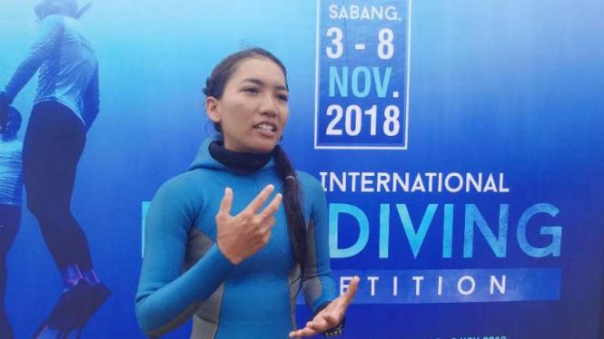 Atlet freediving Indonesia, Nikita Fima Atriyu.