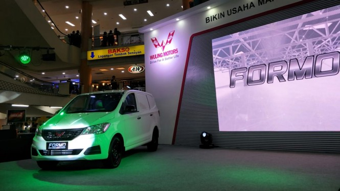 Peluncuran Wuling Formo di Jakarta