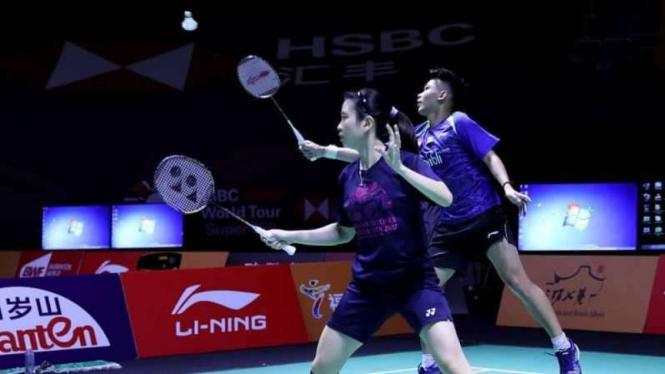 Duo anyar ganda campuran Indonesia, Rinov Rivaldy/Debby Susanto