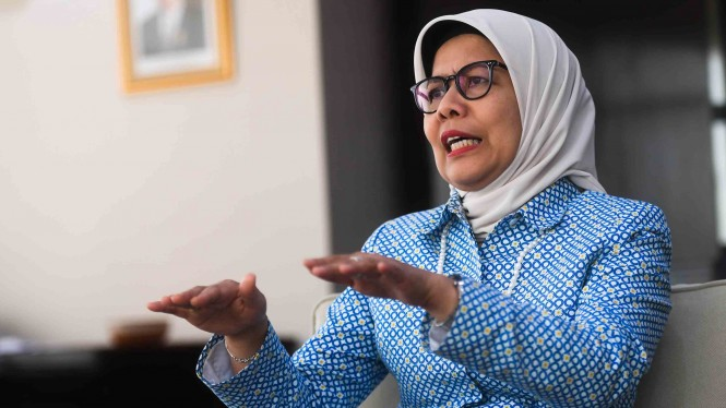 Direktur Utama PT Jasa Marga (Persero) Tbk, Desi Arryani