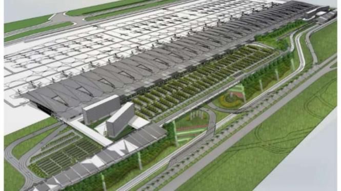 Konsep terminal 4 Bandara Soekarno-Hatta.