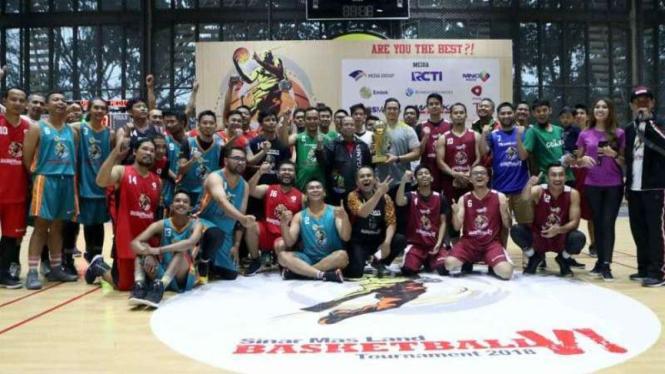 Kemeriahan Sinar Mas Land Basketball Tournament 2018.
