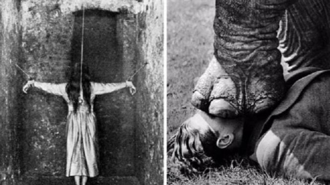 Foto mengerikan tahun 1900-an.