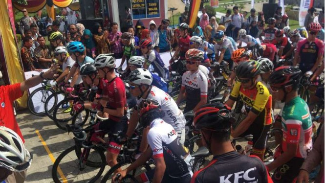 Etape V Tour de Singkarak 2018