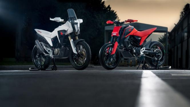 Motor konsep Honda CB125X dan CB125M