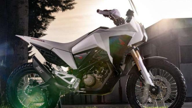 Motor konsep Honda CB125X