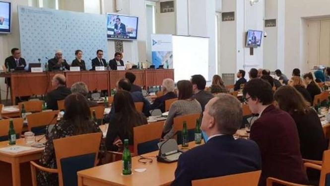 Konferensi Internasional Lintas Agama dan Budaya di Praha, Republik Ceko.