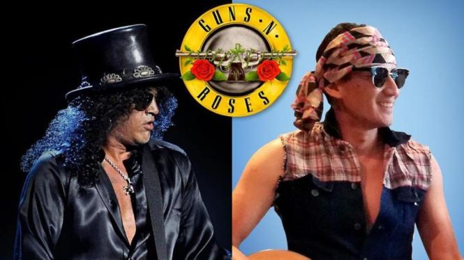 Slash dan Sandiaga Uno