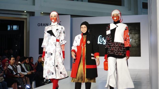 Koleksi terinspirasi Rumah Sakit by Lisa Fitria di Jakarta Fashion Trend 2019