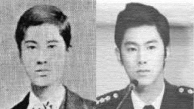 Direktur Jenderal Biro Pajak Jepang Megata Tanetaro dan Yunho TVXQ