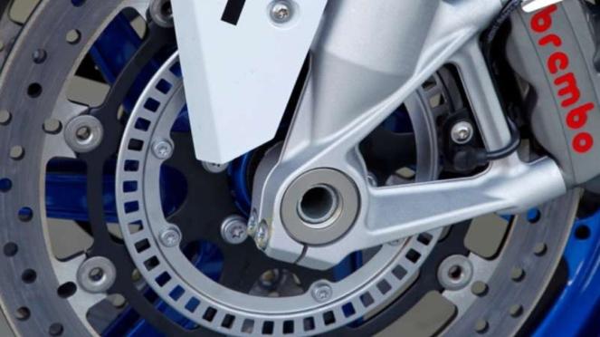 Sensor ABS di cakram depan motor