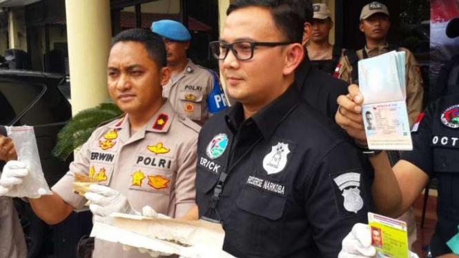 Kasus narkoba Claudio Martinez