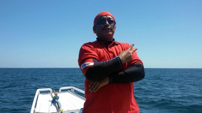 Relawan penyelam Basarnas, Syachrul Anto