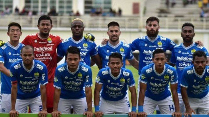 Skuat Persib Bandung di ajang Liga 1 2018