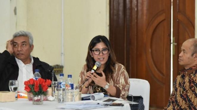 Anggota Komisi I DPR RI Meutya Viada Hafid.