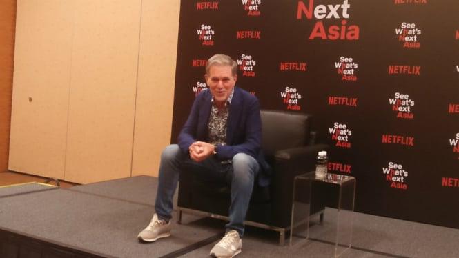 Pendiri dan CEO Netflix, Reed Hastings.