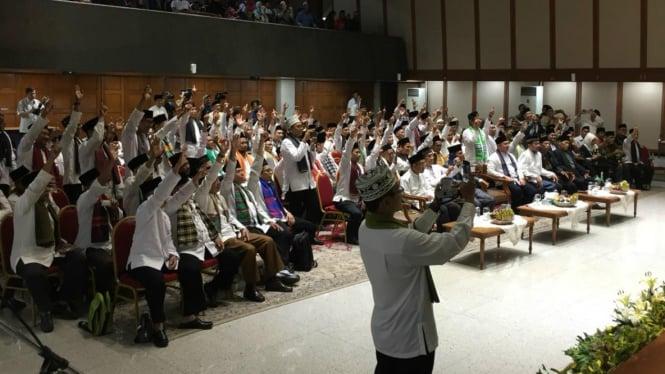 100 marbot dalam pelepasan berangkat ibadah umrah.