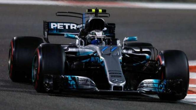Pembalap Mercedes, Valtteri Bottas