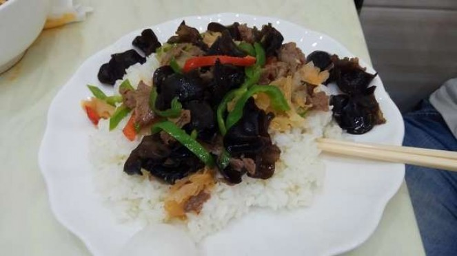 Beef Fried with Mushroom