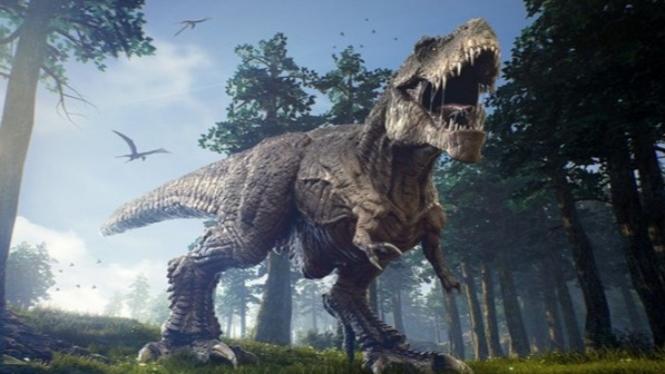 Ilustrasi T-Rex.