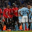 Laga Manchester City kontra Manchester United di Premier League 2017/2018