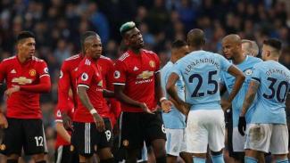 Laga Manchester City kontra Manchester United di Premier League 2017/2018