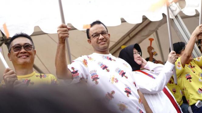 Anies: 40% Warga Jakarta Tak Punya Hunian