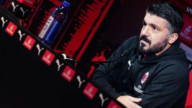 Milan Gagal Juara Supercoppa Italia, Ini Kata Gattuso