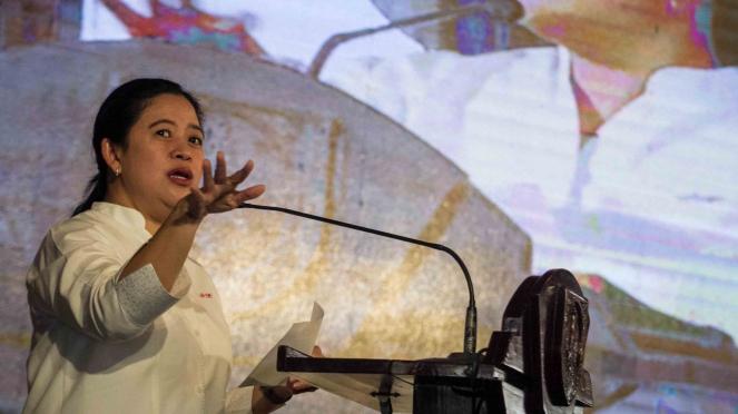 Menteri Koordinator Bidang Pembangunan Manusia dan Kebudayaan (Menko PMK), Puan Maharani