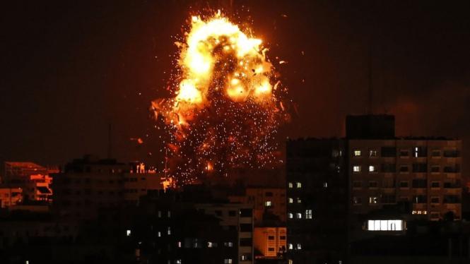 Saling Serang Israel-hamas Di Gaza Meletup Pascaoperasi Rahasia