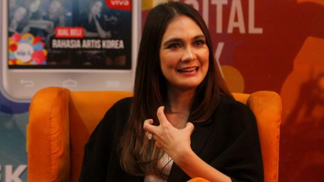 Promo Film Suzzanna, Luna Maya Kunjungi VIVA