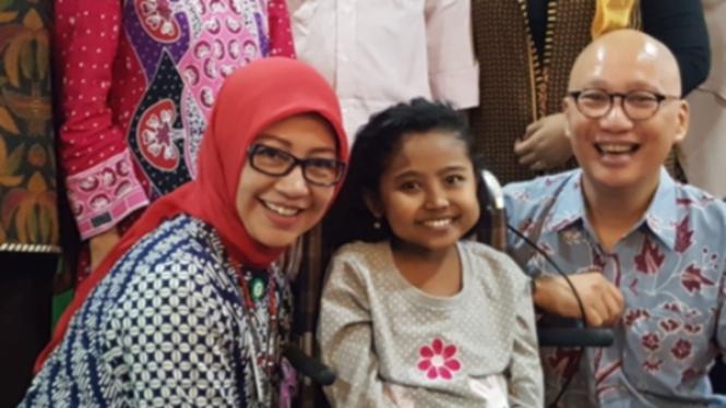 Koma 50 Hari, Anak Perempuan Ini Bertahan dari Gagal Ginjal