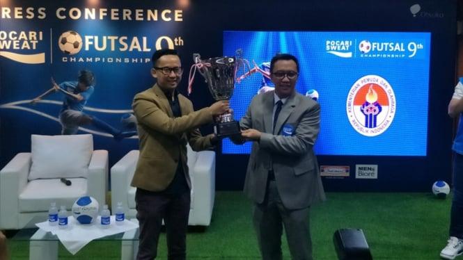 Kompetisi Futsal Antarsekolah Berhadiah Rp400 Juta