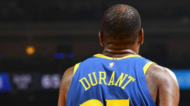 Pemain NBA, Kevin Durant.