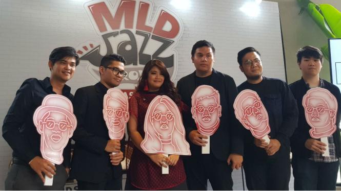 Gandeng Nikita Dompas, MLD Jazz Project Luncurkan Album