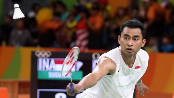 Tunggal putra Indonesia, Tommy Sugiarto.