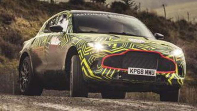 SUV Aston martin.