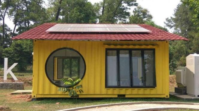 Rumah Futuristis Dan Cocok Untuk Daerah Rawan Bencana Rancangan Ui