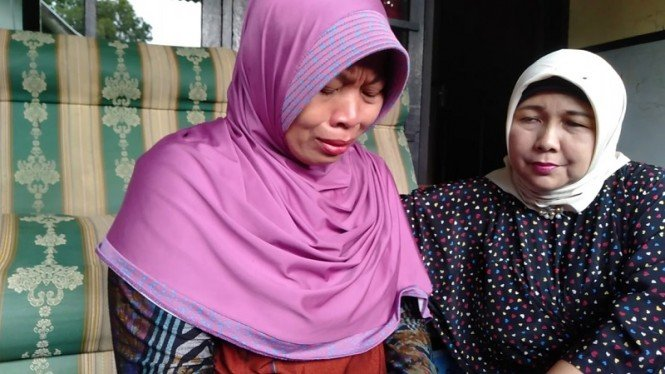 Guru honorer Baiq Nuril yang dikriminalisasi