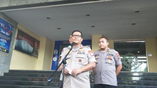 Kepala Bidang Hubungan Masyarakat Polda Metro Jaya, Kombes Argo Yuwono.