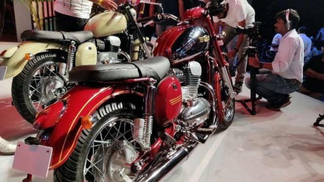 Sepeda motor Jawa edisi 2019