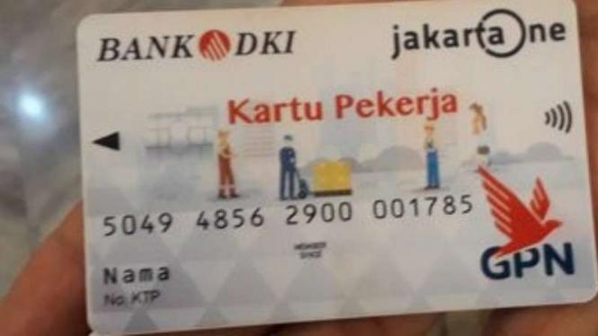 Kartu Pekerja Jakarta Mulai Dibagikan Simak Syarat Pengajuannya