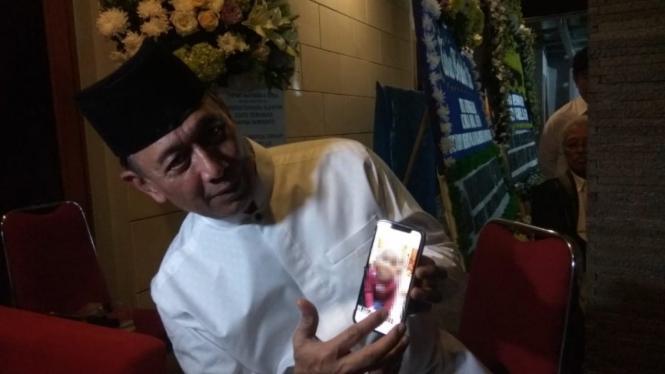 Wiranto Cerita Cucunya Meninggal karena Terpeleset ke Kolam Ikan