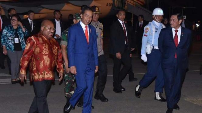 Usai KTT ASEAN, Jokowi Langsung Terbang ke Merauke